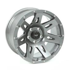 Rugged Ridge 15301.30 XHD Wheel, 17x9, Gun Metal