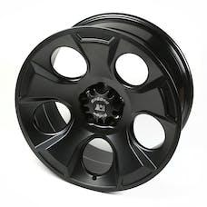 Rugged Ridge 15304.01 Drakon Wheel; 20x9; Black Satin; 07-17 Jeep Wrangler JK