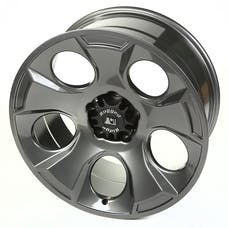 Rugged Ridge 15304.30 Drakon Wheel; 20x9; Gun Metal; 07-17 Jeep Wrangler JK