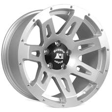 Rugged Ridge 15305.40 XHD Wheel; 18x9; Silver; 07-17 Jeep Wrangler JK