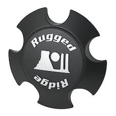 Rugged Ridge 15305.51 XHD Center Cap; Matte Black