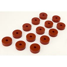 Rugged Ridge 18351.01 Body Mount Kit, Red, 14 Pieces