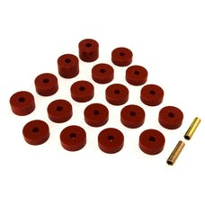 Rugged Ridge 18351.07 Bushing Set Body Mount; 74-75 Jeep CJ Models