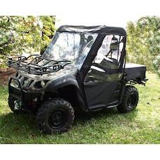 Rugged Ridge 63310.01 Cab Enclosure; Black