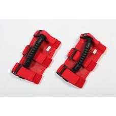 Rugged Ridge 63505.03 UTV Ultimate Grab Handles; Red