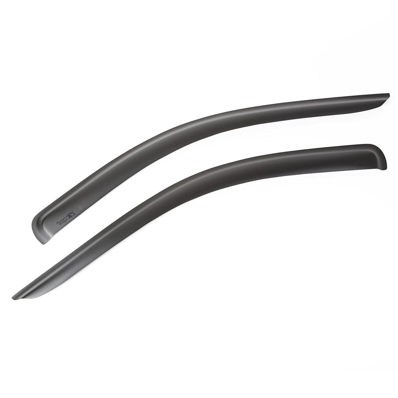 Rugged Ridge 81349.53 Matte Black Window Visor Kit for Ram 2500//3500 Pickup