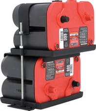 Smittybilt 2797 Dual Battery Tray