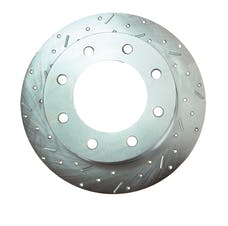 Stainless Steel Brakes 23469AA3L rtr drld sltd zp frnt 2003-06 Ram 2500 all lh