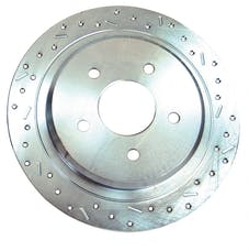 Stainless Steel Brakes 23475AA3R rtr drld sltd zp rr 2006-07 Charger except HD brakes rh