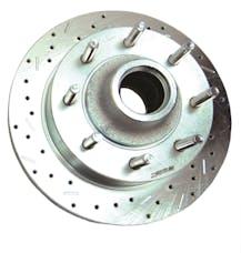 Stainless Steel Brakes 23576AA3L rtr drld sltd zp frnt 2003-04 F250 2WD Superduty lh