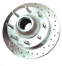 Stainless Steel Brakes 23576AA3R rtr drld sltd zp frnt 2003-04 F250 2WD Superduty rh