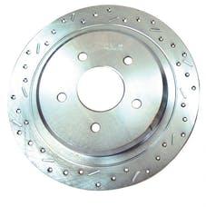 Stainless Steel Brakes 23608AA3L rtr drld sltd zp rr 2000-05 Impala/Monte Carlo all lh