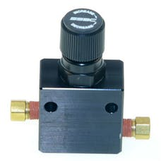 Stainless Steel Brakes A0707-1 Prop valve adjustable-black packaged