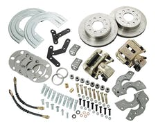 Stainless Steel Brakes A111-2 Rear conv kit Ford 8in./9in. SB