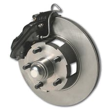 Stainless Steel Brakes A121-1 Front drm/dsc conv kit 67 Mustang auto