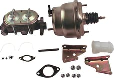 Stainless Steel Brakes A28142 7in. dual diaphragm booster/M/C 64-72 GM A/F body