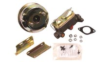 Stainless Steel Brakes A28143C 7in. booster-mc/chrome 64-66 Mustang