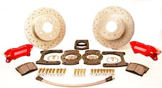 Stainless Steel Brakes W112-26R At The Wheels Comp S W112-26 w/red powder coat
