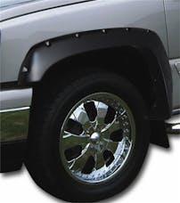 Stampede Automotive Accessories 8439-2 Ruff Riderz Fender Flare, Black, Set Of 4; Smooth;