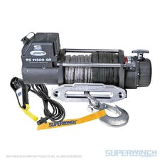 Superwinch 1511201 Tiger Shark 11500 Winch Synthetic