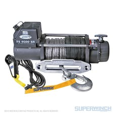 Superwinch 1595201 Tiger Shark 9500 Winch Synthetic