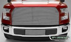 T-Rex Grilles 25573 Billet Bumper Grille, Polished, Aluminum, 1 Pc, Insert