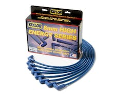 Taylor Cable Products 64603 High Energy RC custom 8 cyl blue