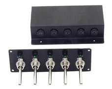 Taylor Cable Products 1071 Remote Switch Panel Black