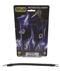 Taylor Cable Products 30808 Battery Cable MC 8ga 8in black