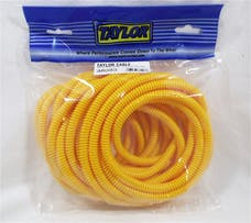 Taylor Cable Products 38093 1/4in Convoluted Tubing 25ft yellow