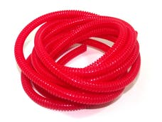 Taylor Cable Products 38194 1/4in Convoluted Tubing 50ft red