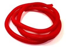 Taylor Cable Products 38800 3/4in Convoluted Tubing 25ft red