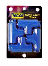 Taylor Cable Products 39160 Split Tee Adapter Kit blue