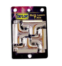 Taylor Cable Products 39180 Split Tee Adapter Kit chrome