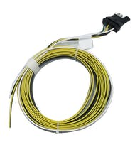 Taylor Cable Products 41710-20PB 4-Way Flat Trailer Conn Pigtail HD Wishbone 20 Ft.
