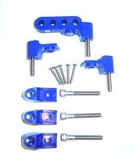 Taylor Cable Products 42761 Bracket Hortizontal 4/Pkg  Blue