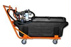 TITAN Fuel Tanks 6000004 100 Gallon Extra Heavy Duty, Cross-Linked Polyethylene Fuel Tank Trolley/Dc Pump