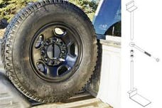 TITAN Fuel Tanks 9901330 Spare Tire Buddy, Brackets, Foot And Hardward Needed For Installation