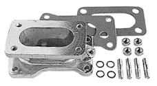 "Trans Dapt Performance 2181 1-3/4"" Tall, Weber DGV to Toyota 22R Carburetor Adapter -Cast Aluminum"