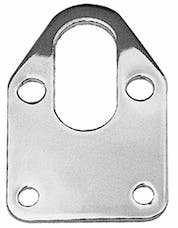 Trans Dapt Performance 2310 FUEL PUMP Mounting Plate and Gasket; SB Chevy 283-400-CHROME