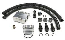 Trans Dapt Performance 3355 Single Oil Filter Relocation Kit