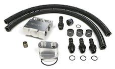 Trans Dapt Performance 3357 Single Oil Filter Relocation Kit