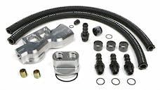 Trans Dapt Performance 3383 Dual Oil Filter Relocation Kit