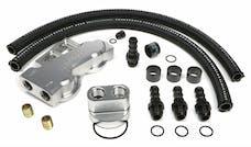 Trans Dapt Performance 3385 Dual Oil Filter Relocation Kit