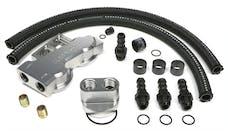 Trans Dapt Performance 3387 Dual Oil Filter Relocation Kit