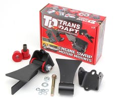 Trans Dapt Performance 4511 LS SERIES Universal Street Rod Bushing Mounts. For use with HEDMAN Tight Tubes.