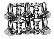 Trans Dapt Performance 4920 Timing Chain Cover Bolts (ZINC)- CHEVY 4.3L V6 or SB Chevy 283-400