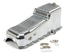 Trans Dapt Performance 9023 OIL PAN FINNED ALUMINUM SBC 305-350 1980-85