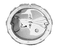 Trans Dapt Performance 9037 GM Intermed., 88-06 GM 1/2 Ton (10 Bolt), Complete Chrome Differential Cover Kit