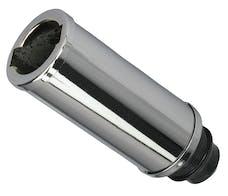 """Trans Dapt Performance 9256 """"PUSH-IN"""" Style Oil Filler Extension Tube; 5"""" Long-CHROME"""